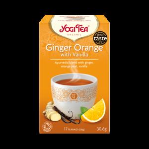 Ekologiskt Te - Ginger Orange Vanilla - Yogi Tea - Piggabutiken.se