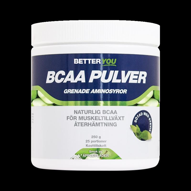 BCAA Pulver - Fläder/Äpple - Better You - Piggabutiken.se
