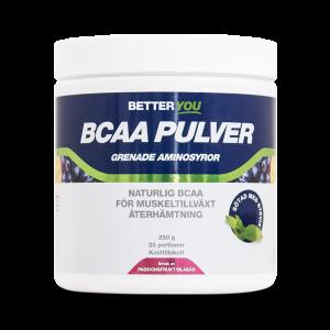 BCAA Pulver - Passionsfrukt/Blåbär - Better You - Piggabutiken.se